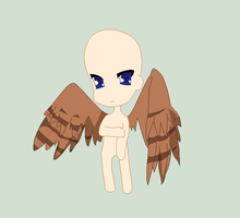 Chibi Hawk Girl Base by Emo-Ninja-Girl