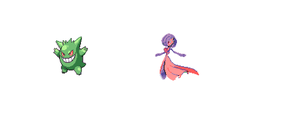 gengar gardevoir color swap by 123vilocirapter
