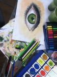 the green eye by camucamu
