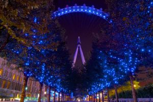 London Eye by wmandra