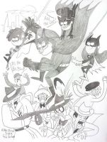 Batman Falls! by komi114