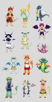 creatures by eleth89