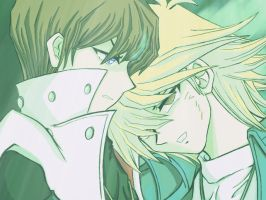 Kaiba X Jounouchi 10 by Joanther