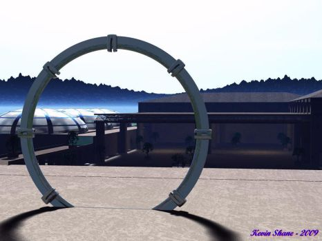 The Tollan Stargate - View II by EnigmaticMe