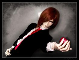 BJD: Light Yagami by Maru-Light