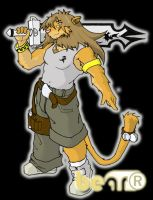 Warior Lion Color by BeaR-the-priest
