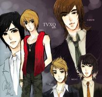 TVXQ are by Klunatic
