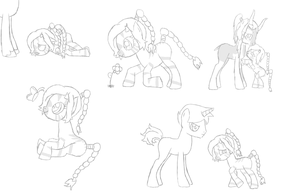 Gizzy Sketch Dump by Saprana