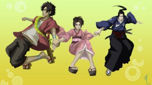 Samurai Champloo : Float by Anodesu