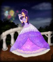 Celeste in a ball gown by ICassidyI
