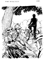 Holmes Solo Cyclist by Dogsupreme