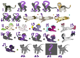 OTA Mystery Adopts [CLOSED] by Inkhling
