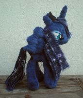 Custom Luna doll, view 2 by joitheartist