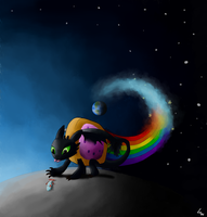 Nyan-Toothless v2.0 by Zubr667