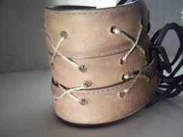 Leather bracer by meb1982