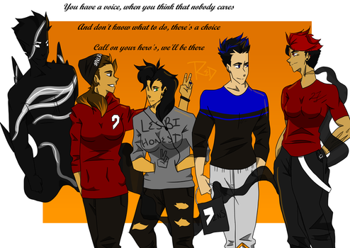 Difference Heros' by WOLFCLAN88