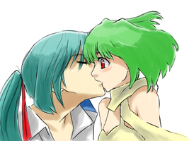 'Alto and Ranka' - animetorr by MacrossFrontierClub