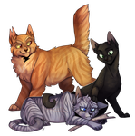 The Three by ninetail-fox