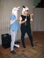 Yami Bakura And Marik Ishtar by C-WorldProductions