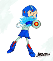 Antboy's Megaman by therealantboy