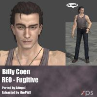 Billy RE0 Fugitive by Adngel