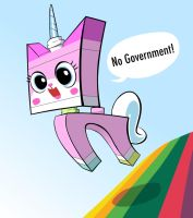Unikitty! by SleepDeprivedChicken