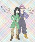 Trunks and Mai by violetatranceart