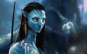 Neytiri wallpaper by Jerner