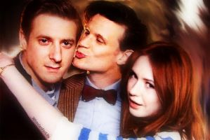 Give Us A Kiss Darvill by WhovianForLife