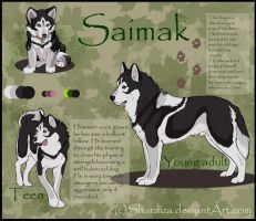 Saimak - ref sheet by Sharaiza