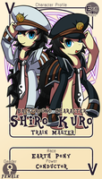 Character Card : Kuro and Shiro by vavacung