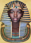 Portrait of a Pharaoh by BrandonSPilcher