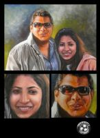 painting potraits by ketology