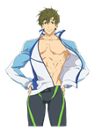 Makoto Sprite - swimming Neutral by FMAKHR102