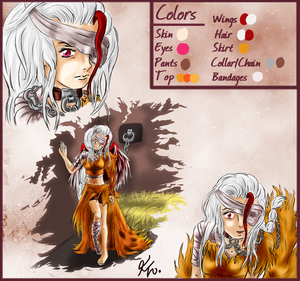 OP OC: Vicktoria 'Ghost Eagle' Anne Disoure by Izayoi1265