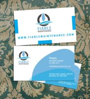 fiablemaintenance businesscard by sounddecor
