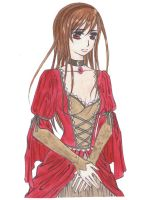 Victorian Gown Yuuki - Colored by Sapphirie