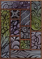 ACEO Abstract 1 by Artwyrd