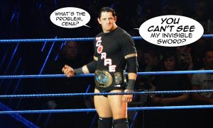 Wade Barrett - Invisible Sword by Roselyne777