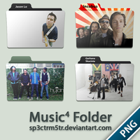 Music Folder 4 PNG by sp3ctrm5tr