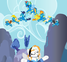 Introducing The Wonderbolts! by StarryOak