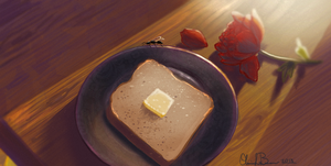 Ant Toast by Catwagons