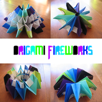 Origami Fireworks by OrigamiGenius