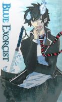 Ao no exorcist- rin okumura by SkullCandy-13
