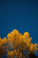 Autumn night sky by JuhaniViitanen