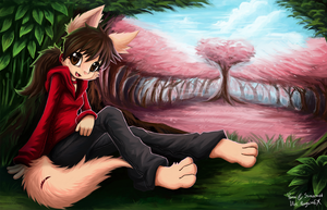 Yana in Dimension Forest by PenguinEXperience
