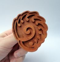 Starcraft 2 Zerg cookie mold by markhizio