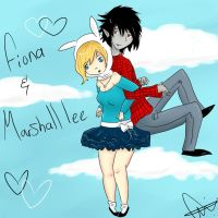 fiona and marshall lee by ChrisSG10
