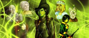 A Wicked land of Oz by DarthVandola