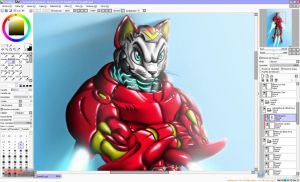 IronKAT - SpeedPaint - MKV Video by Unreal-Forever